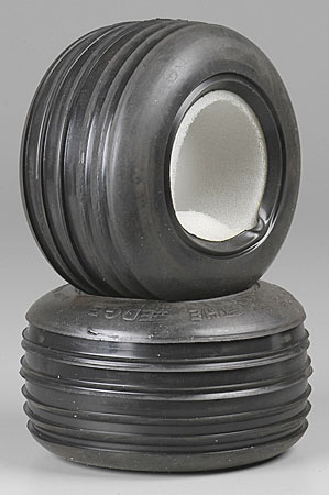 Front Edge Tires M3 w/Inserts (2)