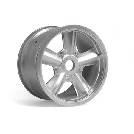 Wicked Retro 5 Spoke MonsterTruckWheelMatte/Chr(2)