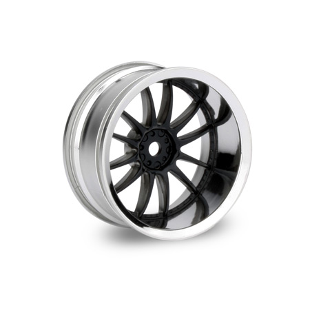 Work XSA Wheel 26mm Black Chrome (2) 9mm Offset