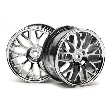 Mesh Touring Wheels 26mm Chrome