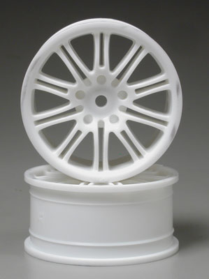 10-Spoke Sport Wheel 26mm White