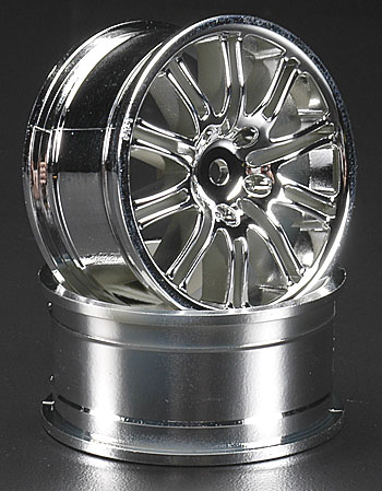 10-Spoke Sport Wheel 26mm Chrome