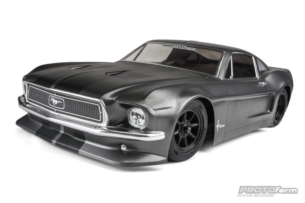 1968 Ford Mustang Clear Body VTA Class